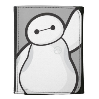 Baymax Waving Leather Wallets