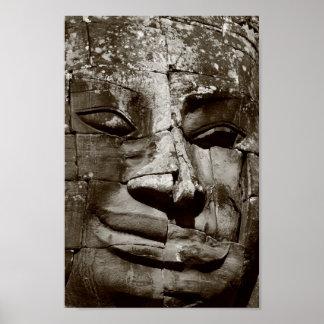 Bayon Face (poster) Poster