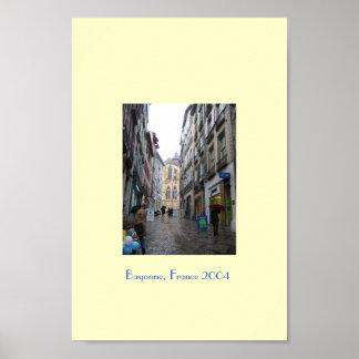 Bayonne, France 2004 Poster