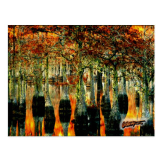 Bayou Post Card - David A. Sargent Art