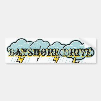 Bayshore Drive- Weather the Storm Bumper sticker
