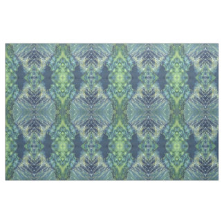 'Bayshore' Navy Green Nautical Coastal Fabric Juul