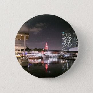 Bayside Market place Miami 2 Inch Round Button
