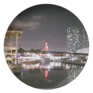 Bayside Market place Miami Dinner Plate