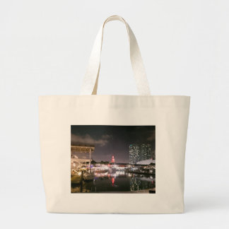 Bayside Market place Miami Large Tote Bag