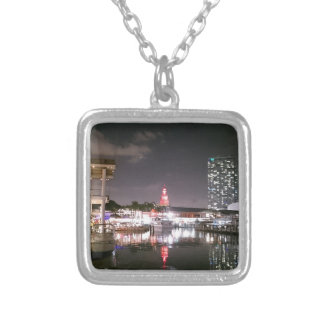 Bayside Market place Miami Silver Plated Necklace