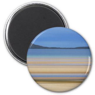 BayTides Out Digital Art by David Alexander Elder 2 Inch Round Magnet