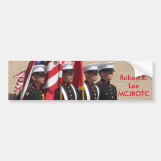 Baytown Robert E. Lee MCJROTC Bumper Sticker