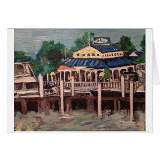 Bayview Avenue, Put-n-Bay, Ohio Greeting Card