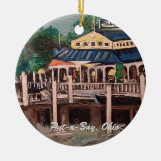 Bayview Avenue, Put-n-Bay, Ohio Ornament