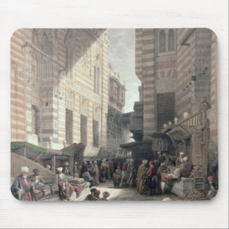 "Bazaar of the Silk Merchants, Cairo, from ""Egypt a Mouse Pad"