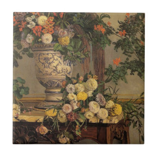 Bazille - Flowers Tile