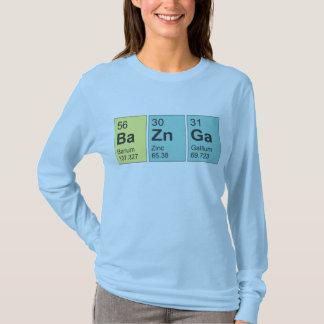 BaZnGa, Scientific Element Ladies fit LS T-shirt. T-Shirt
