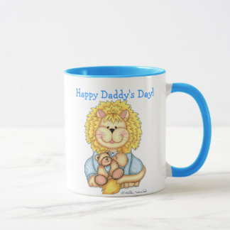 """BaZooples """"Happy Daddy's Day"""" Personalized Mug"""