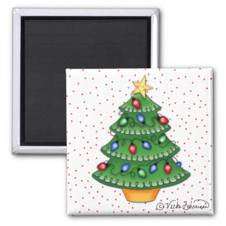 BaZooples Holiday Tree Magnet