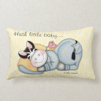 "BaZooples ""Hush little baby..."" Pillow"