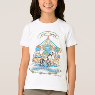 """BaZooples """"Life's A Carousel"""" Child's T-Shirt"""