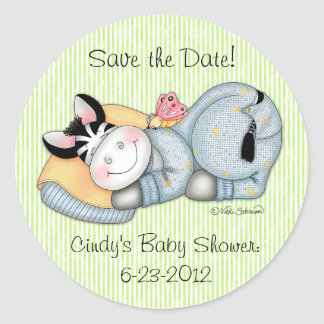 "BaZooples ""Save the Date!"" Zach Sticker"