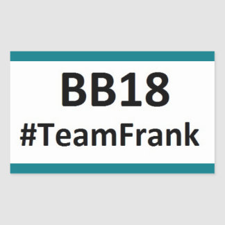 BB18 (Big Brother 18) Team Frank STICKERS