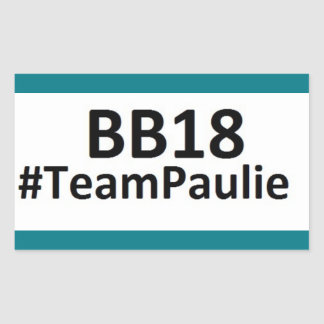BB18 (Big Brother 18) Team Paulie STICKERS