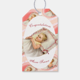 BB BABY NEW BORN CARTOON GIFT TAG MATTE PACK OF GIFT TAGS