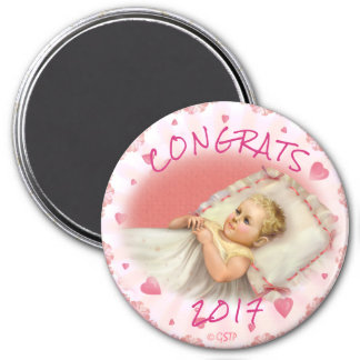 BB BABY NEW  BORN MAGNET Large, 3 Inch