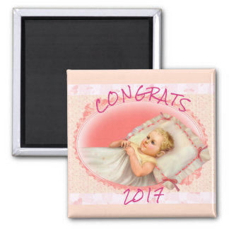 BB BABY NEW  BORN MAGNET Square