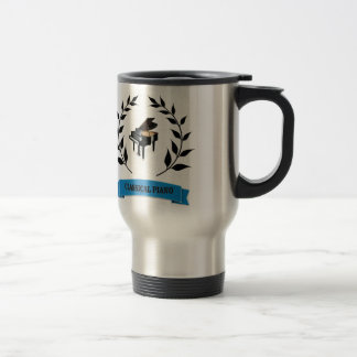 bb classical piano travel mug