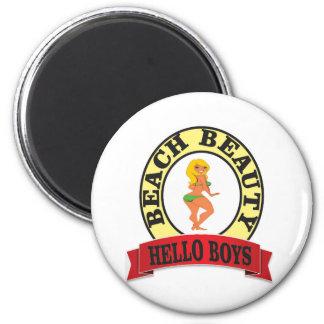 bb hello boys 2 inch round magnet