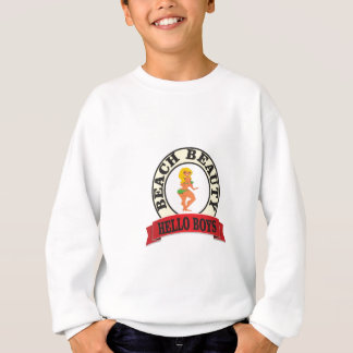 bb hello boys sweatshirt