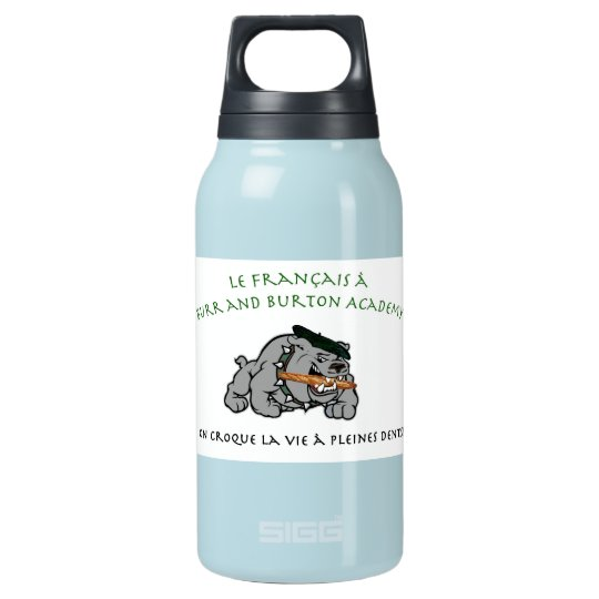BBA French Insulated Water Bottle