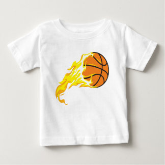bball flame baby T-Shirt