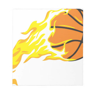 bball flame notepad