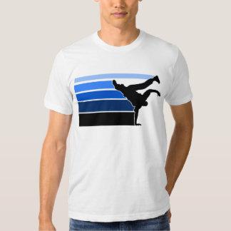 BBOY gradient blu blk Tshirt