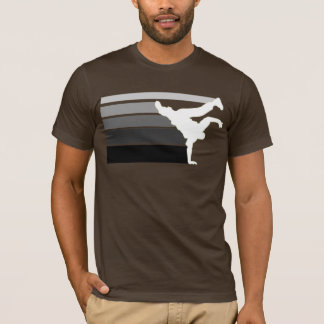 BBOY gradient grey wht T-Shirt