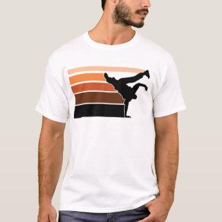 BBOY gradient orgn blk T-Shirt