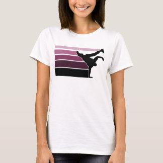 BBOY gradient prpl blk T-Shirt