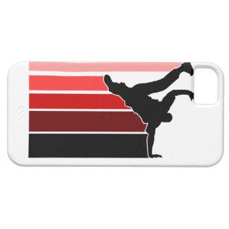 BBOY gradient red/blk iPhone 5 case