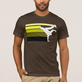 BBOY gradient yellow wht T-Shirt