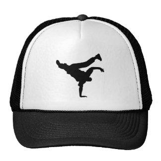 BBOY pose 1 black hat