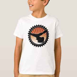BBOY windmill kid's t-shirt