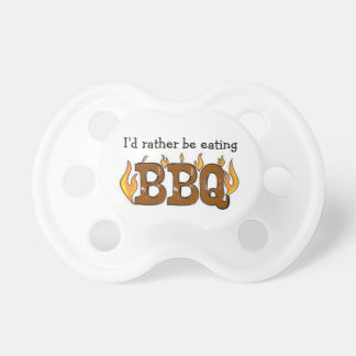 BBQ Baby Pacifier