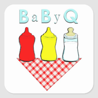 Baby shower template stickers baby shower template custom for Baby shower bbq decoration ideas