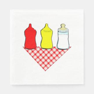 BBQ Baby Shower Paper Napkin