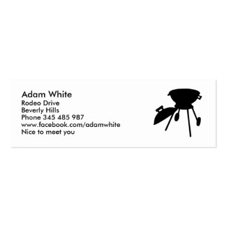 BBQ barbecue Business Card Templates
