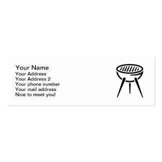 BBQ barbecue Mini Business Card