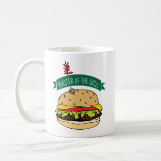 BBQ Burger Master of the Grill Coffee Mug