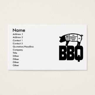 BBQ BUSINESS CARD