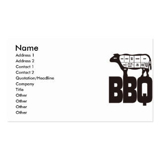 BBQ BUSINESS CARDS