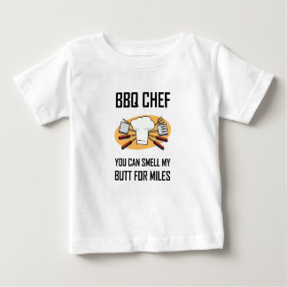 BBQ Chef Smell Butts Baby T-Shirt